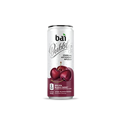 - Bai Bubbles, Sparkling Water, Bolivia Black Cherry, Antioxidant Infused Drinks, 11.5  Fl. Oz Cans, 12 count