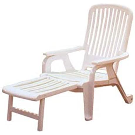 Grosfillex Bahia Resin Deck Chair 47658004 10 Pack