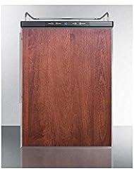 Summit SBC635MBINKFR Wine Dispenser, Brown