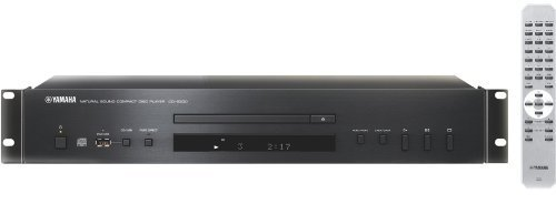 Yamaha CD-S300-RK Rackmount CD Player, USB Port, MP3, WMA Playback, DAC Conversion by YAMAHA