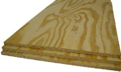 Alexandria Moulding PY002-PY048C 0.5 in. x 2 ft. x 4 ft. Plywood Handy Panel