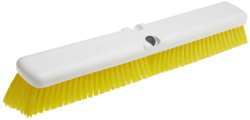 Carlisle 4189004 Sparta Omni Floor Sweep, 18'', Yellow (Pack of 12) by Carlisle