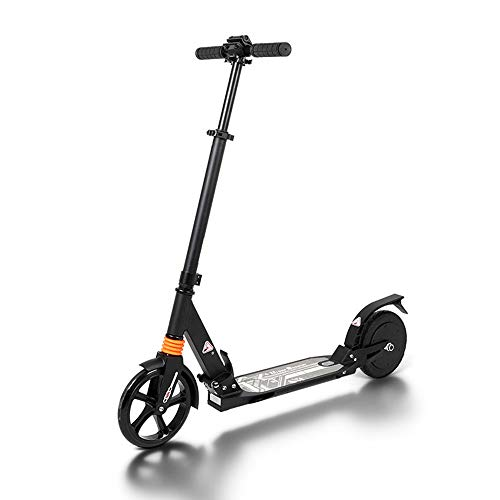 ZJY Folding Electric Scooter - 2 Damping System - Powerful Battery Silent Motor Easy to Carry - Suitable for Adult City Traffic Commuting Support 264 Lbs