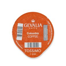 Tassimo Gevalia Colombia Coffee T-DISCs for Tassimo Brewer, 14-Count, Nett Wt 3.88 Ounce (Medium)