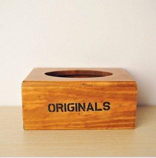 BO @ ne Le Vieux caja de almacenaje Caja de pañuelos caja de pañuelos de madera: Amazon.es: Hogar