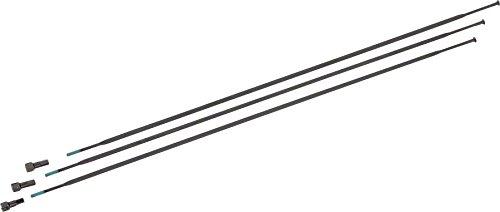 Sram Spokes And Nipples 294mm Straight-pull External Black, Roam 30 29 Inch,