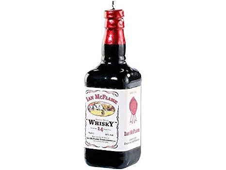 MostroMania - Candela di Cera - Bottiglia di Whisky - Decorazioni ...