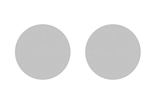 Sonos In-Ceiling Speakers – Pair of Architectural Speakers by Sonance for Ambient Listening