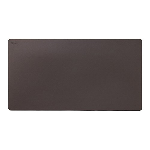 "Nekmit Leather Desk Blotter 34""x17"" , Brown"