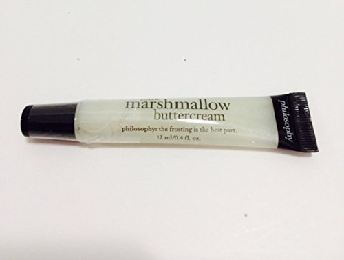 PHILOSOPHY Pink Marshmallow Buttercream high -Flavor Lip shine 12ml/0.4 oz ()