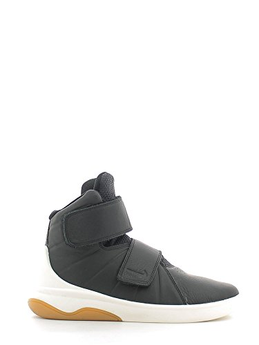 Nike 840106-002- Chaussures de Basketball Garçon, Noir (Black / Black Sail Gum Light Brown), 40 EU