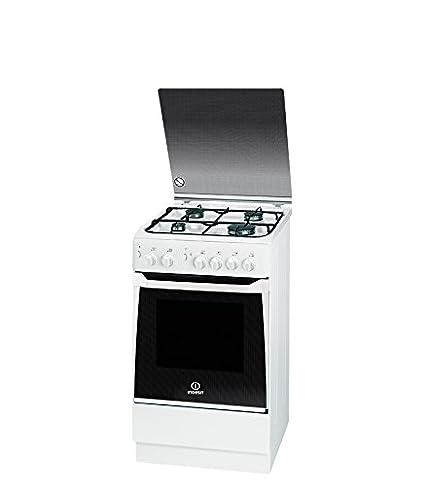 Indesit KN1G21S(W)/UA - Cocina (Cocina independiente, Blanco ...