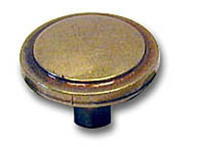 "Amerock Traditional Classics 1 3/16"" Cabinet Knob Burnished Brass"