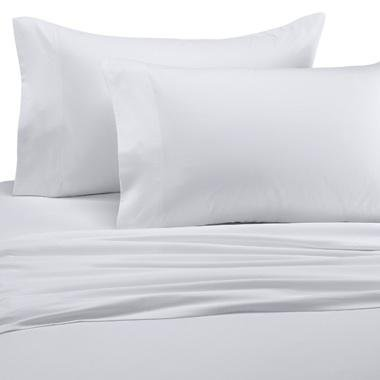 1200 Thread Count Four (4) Piece Queen Size White Solid Bed Sheet Set, 100% Egyptian Cotton, Premium Hotel Quality (1200 Tc Sheet Set)