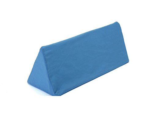 Hermell Body Aligner Wedge Cushion, Post-Injury, Post-Surgery, Sleep Apnea, Side Sleeper, Removable Cover - Blue