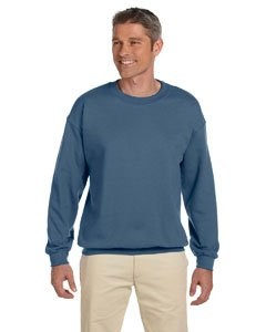 Gildan Men's Heavy Blend Crewneck Sweatshirt - Medium - Indigo -