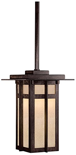 Minka Lavery 71190-A357-PL Delancy Stem Chain Hung Outdoor Pendant, 6