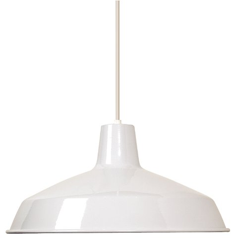 Nuvo Lighting SF76/283 Warehouse Shade, White