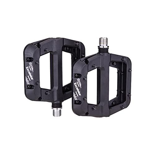 SXCXYG Fiets Pedalen Lagers Nylon Ultralight Platte Pedaal Mountain Racefiets BMX Anti-slip Grote Voet Plastic Fiets…