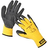 ARCTIC POLAR EXTRA WARM EXTRA GRIP WINTER WORKING GLOVE SIZE LARGE (10) YELLOW by Green Jem