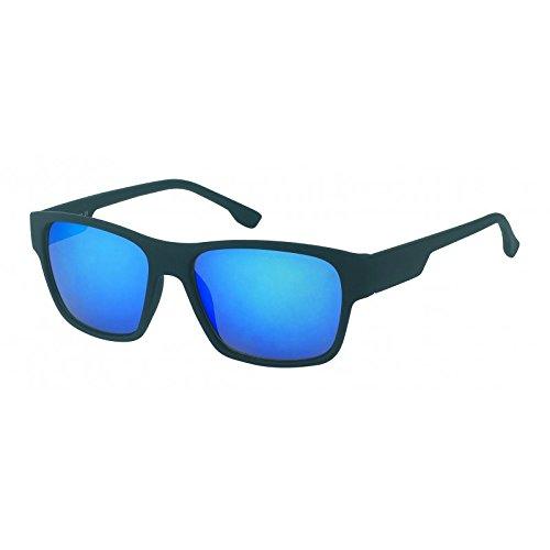 Gafas de sol espejadas correa de caucho 400 estilo Wayfarer ...