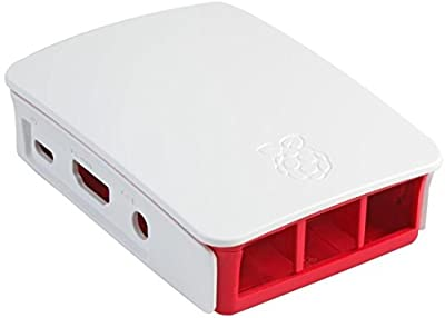 Official Raspberry Pi 3 Case - Red/White by Raspberry Pi
