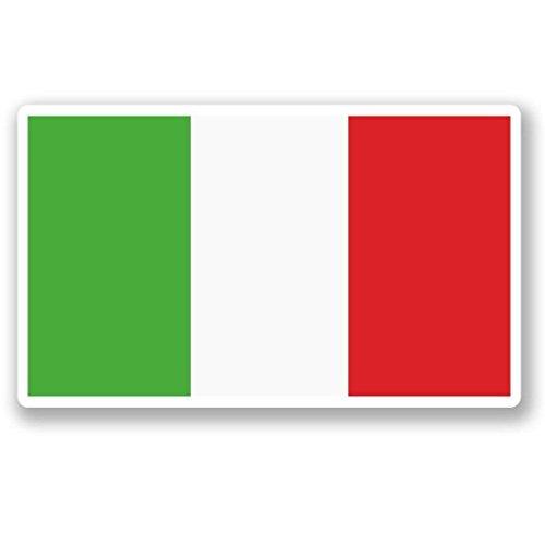 Italy Italian Flag Vinyl Sticker Decal Laptop Car Bumper Sticker Travel Luggage Car iPad Sign Fun 5