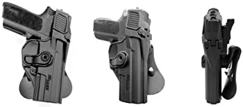 Concealed Carry Mano Pistola Level-3 Retention Holster for Sig Sauer SP2022/SP2009 Black IMI RSR Defence Gun/Funda de Pistola