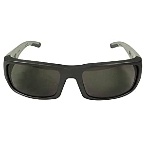 Spy Optic Unisex Caliber Gray Scale/Happy Gray Green Sunglasses