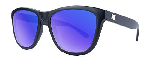 Gafas de sol Knockaround Premium Black / Moonshine Polarizadas