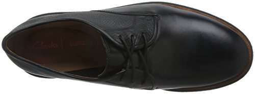 Vestido Negro Cuero Relajante 42 Clarks El De Tamaño Paseo Modur Zapatos Por Hombre BfPwxE1q