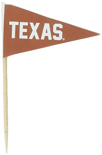 Texas Longhorns Toothpicks 36 Piece Pennant Style FanPicks