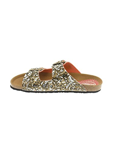 Sandalia Desigual Bio 2 Save The Queen Dorada Gold