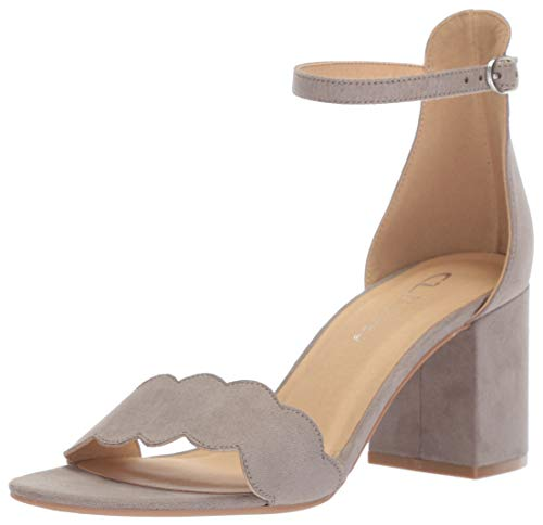 (CL by Chinese Laundry Women's Jayne Heeled Sandal, Opal Grey Suede, 8 M US)