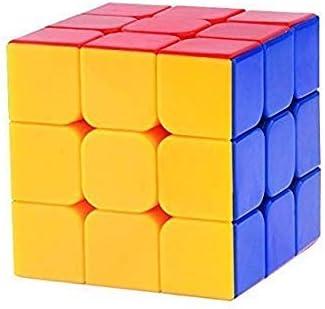 classic shoppe 3x3x3 high speed stickerless magic puzzle cube  Multi color