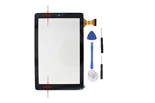 "Price comparison product image Digitizer Touch Screen Panel Replacement for RCA 10 Viking Pro 10.1"" RCT6303W87 RCT6303W87DK Tablet"