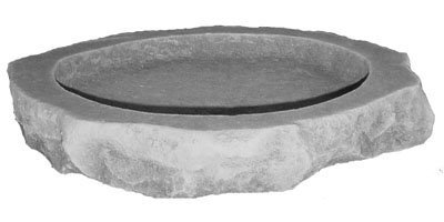 Birdbath Top - Kay Berry Inc Bird Bath Top, Multicolor