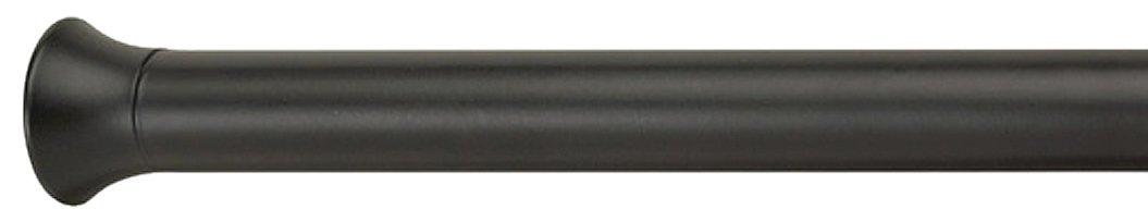 Umbra 244923-038 Chroma Bastone a Pressione per Tenda, Diametro 2.22 cm, 91.4 x 137.1 cm, Nero Design: Luciano Lorenzatti 243003-038