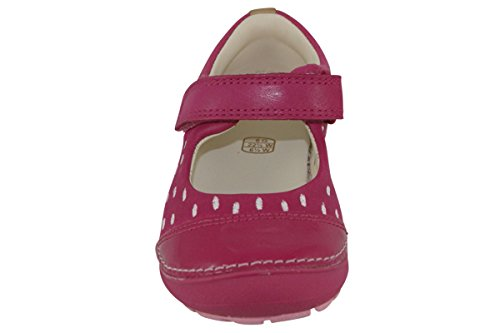 Clarks Softly Lou First Girls Casual Pumps 4.5 Pink