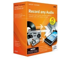 Xitel Inport Hotwire Stereo to PC Recording Kit Record From any Headphone Jack to a PC