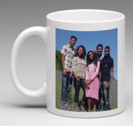 Personalized Coffee Mug - Add pictures, logo, or text to our Custom Mugs by Marvelous Printing (Image #5)