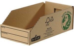 Fellowes 07354EU Caja de cartón Beige archivador organizador ...