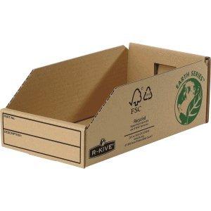 Fellowes 07354EU Caja de cartón Beige archivador organizador - Organizador de almacenaje (Caja de cartón