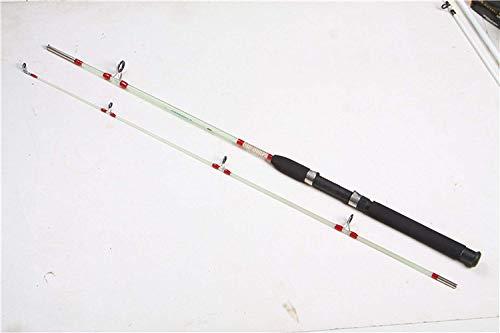 Cool July 2019 Fiberglass Lure Fishing Rod Solid 1.5m 1.8m Hard Catch Big Fish,Clear,1.8 m XNNYA Shirt