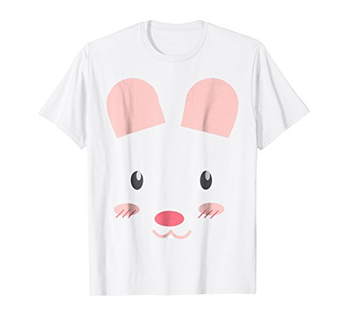 Cute Bunny Rabbit Animal Costume - Funny Halloween T-Shirt
