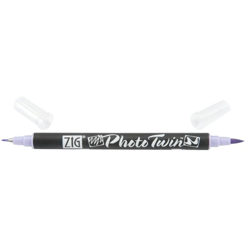 (Zig Photo Twin Tip Marker, Forget Me Not )