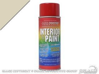 Mustang Paint Interior 1967 - 1968 Light Parchment L-4595 - Scott - Mustang Interior Paint