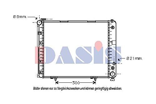 AKS Dasis 120530N Radiator engine cooling