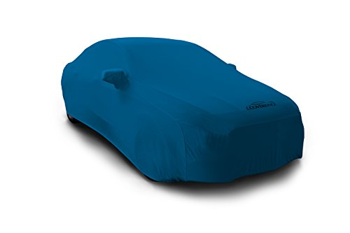 Coverking Custom Car Cover for Select Cadillac CTS Models - Satin Stretch (Grabber Blue)