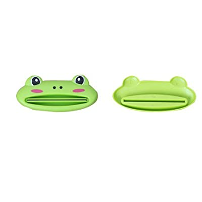 3pcs/Lot Cute Creative Easy Press Dispenser For Toothpaste Cosmetic Multi-Function Toothpaste Tube Squeezer